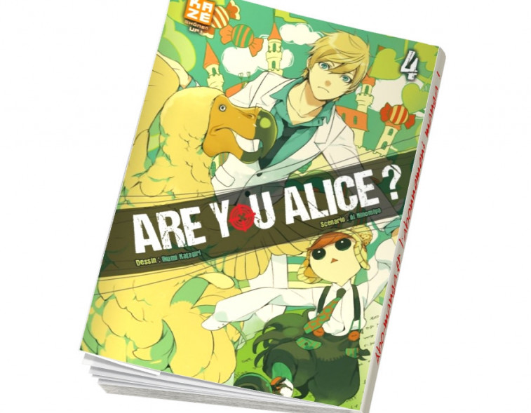 Abonnement Are You Alice tome 4
