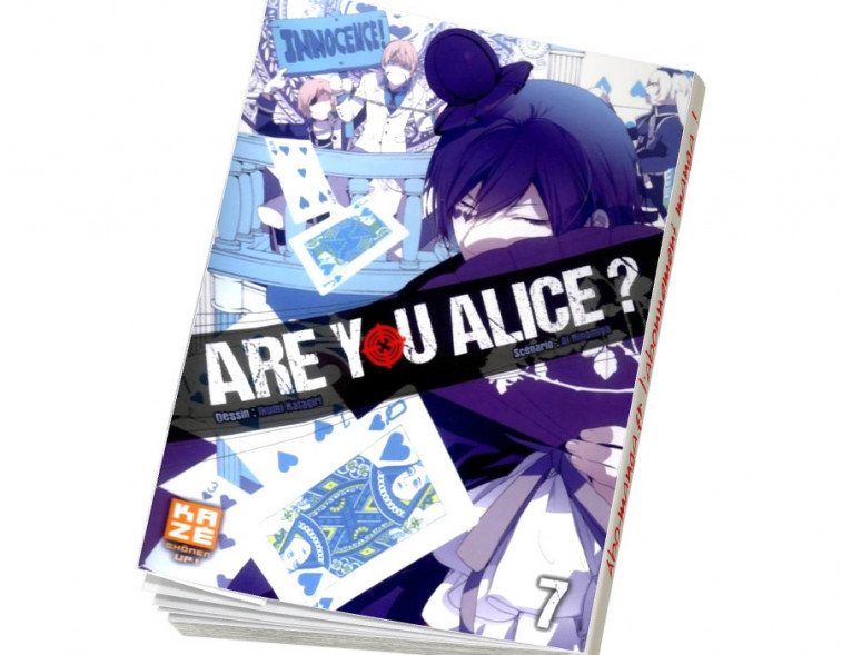 Abonnement Are You Alice tome 7