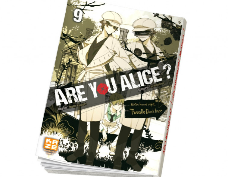 Abonnement Are You Alice tome 9