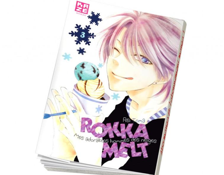 Abonnement Rokka Melt tome 3