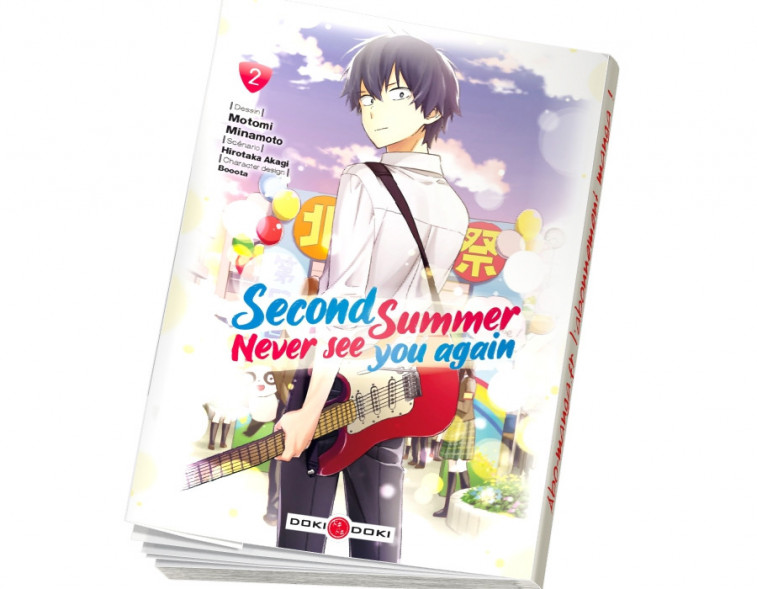 Abonnement Second summer, never see you again tome 2