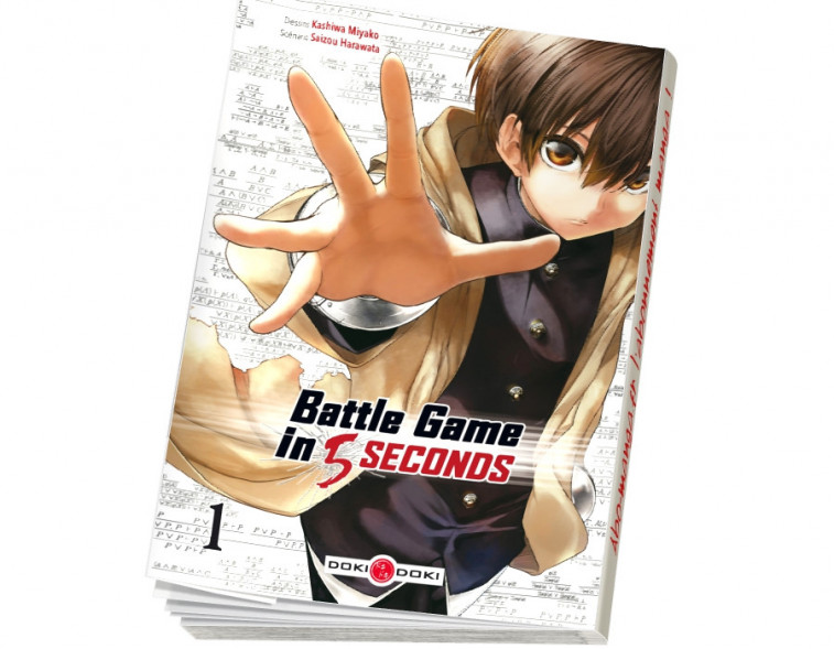 Abonnement Battle Game in 5 Seconds tome 1
