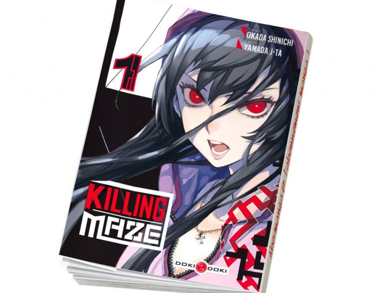 Abonnement Killing Maze tome 1
