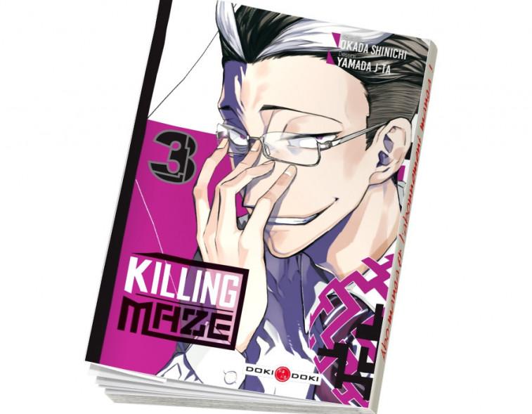 Abonnement Killing Maze tome 3