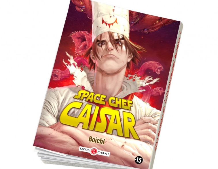 Abonnement Space Chef Caisar - NED 2017 tome 1