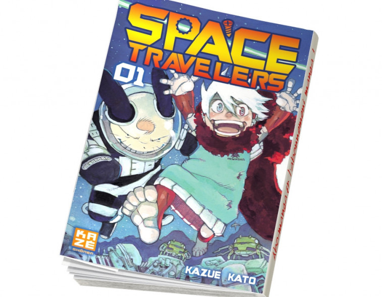 Abonnement Space Travelers tome 1