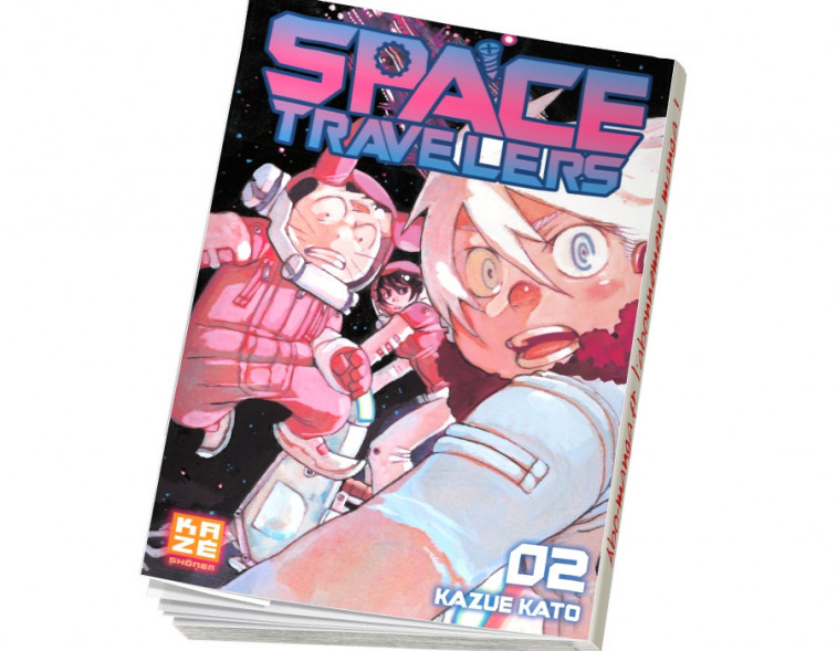 Abonnement Space Travelers tome 2