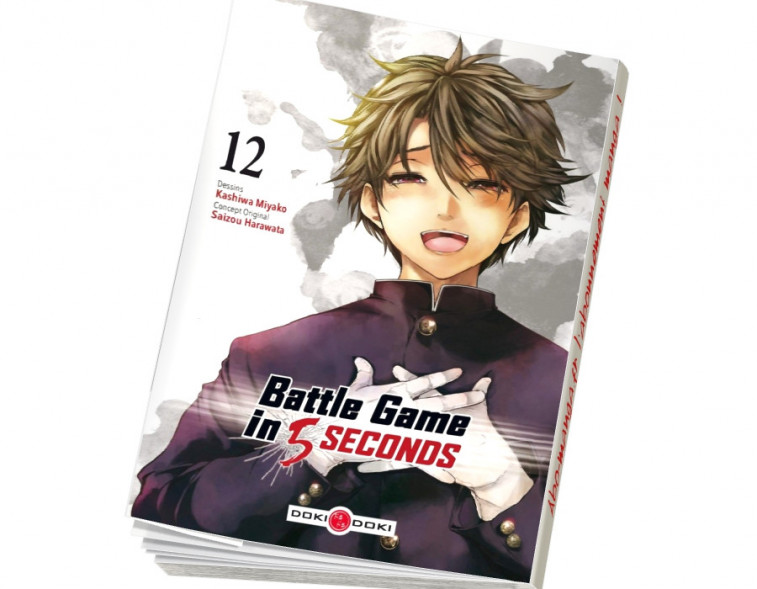 Abonnement Battle Game in 5 Seconds tome 12
