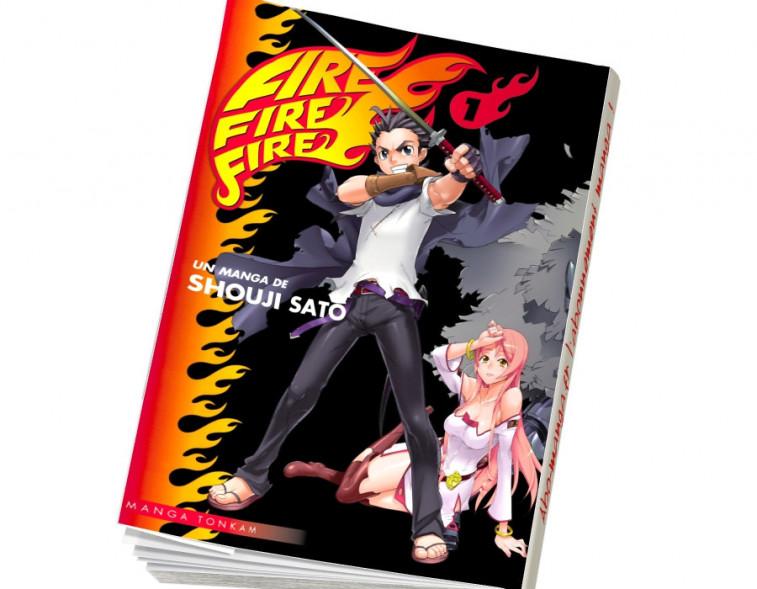 Abonnement Fire Fire Fire tome 1