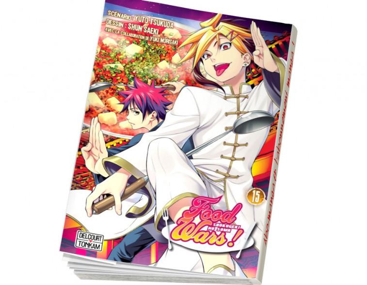 Abonnement Food wars ! tome 15