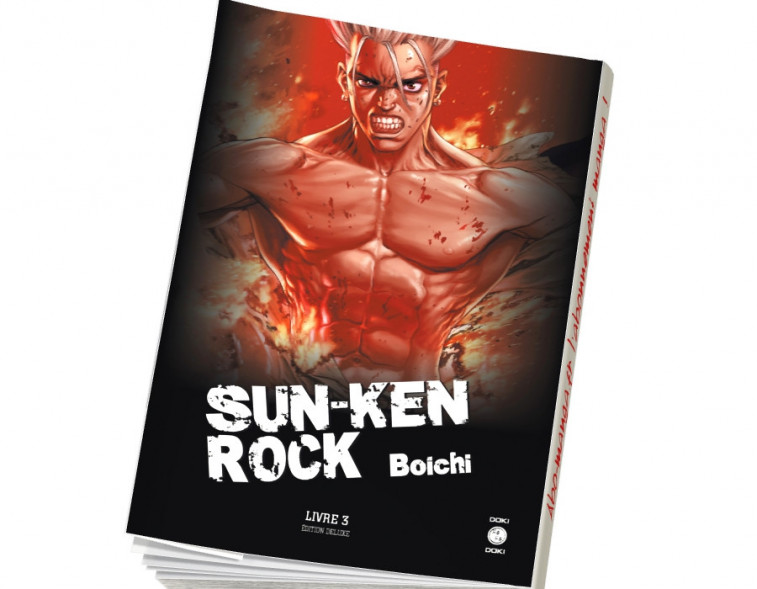 Abonnement Sun-Ken Rock - deluxe tome 3
