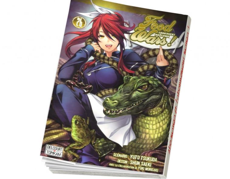 Abonnement Food wars ! tome 26
