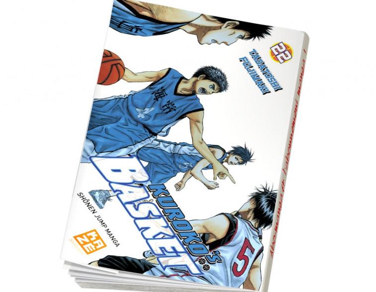 Abonnement Kuroko's Basket tome 22
