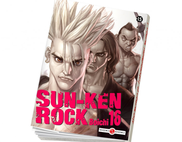 Abonnement Sun-Ken Rock tome 16