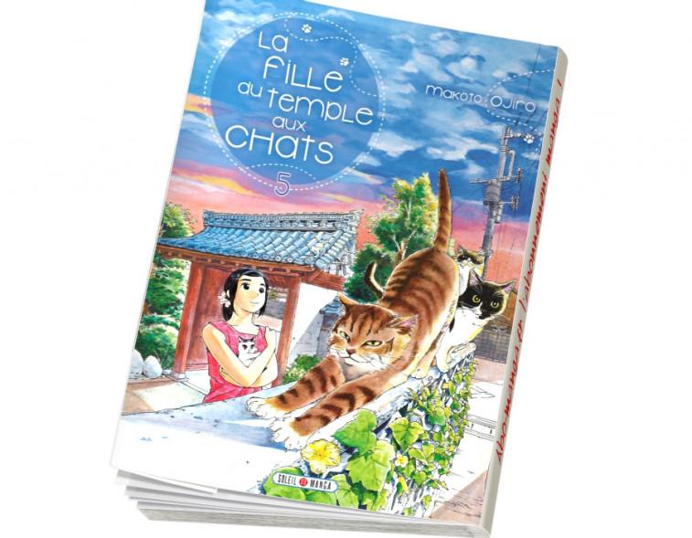 Abonnement La Fille du Temple aux Chats tome 5