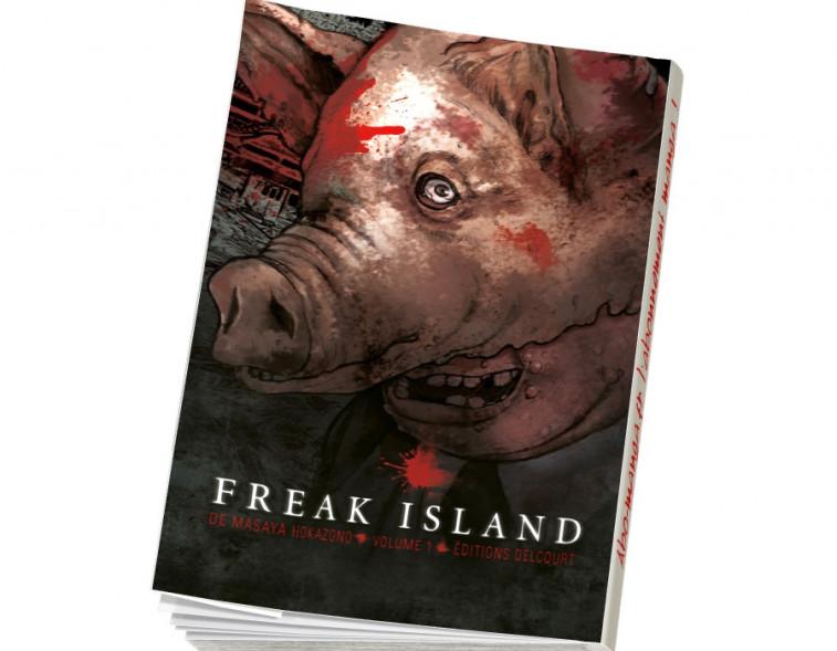 Abonnement Freak Island tome 1
