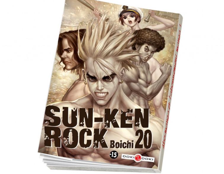 Abonnement Sun-Ken Rock tome 20