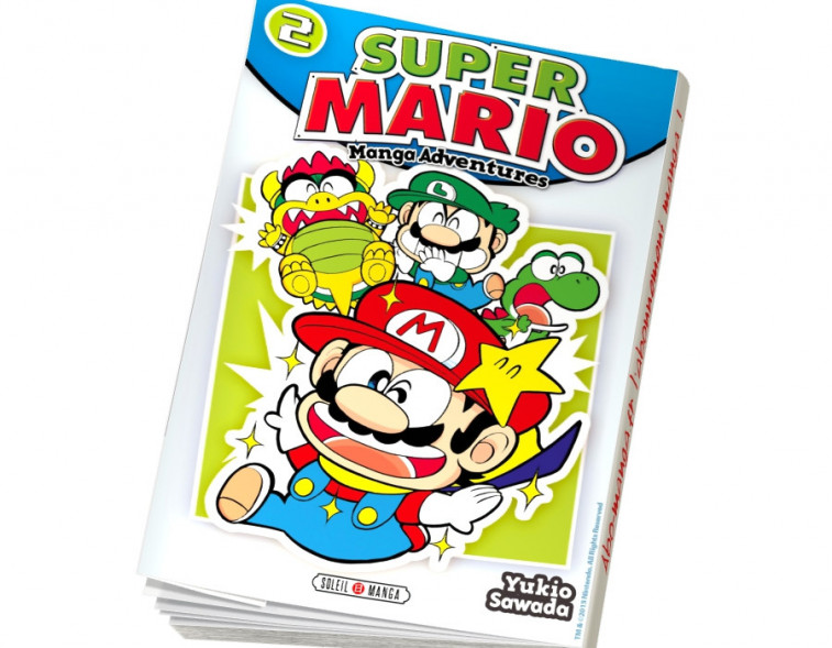 Abonnement Super Mario Manga Adventures tome 2