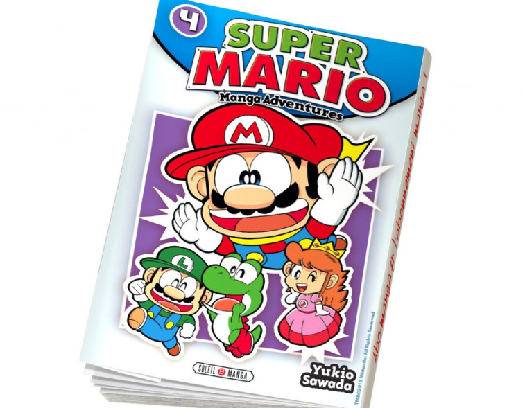 Abonnement Super Mario Manga Adventures tome 4