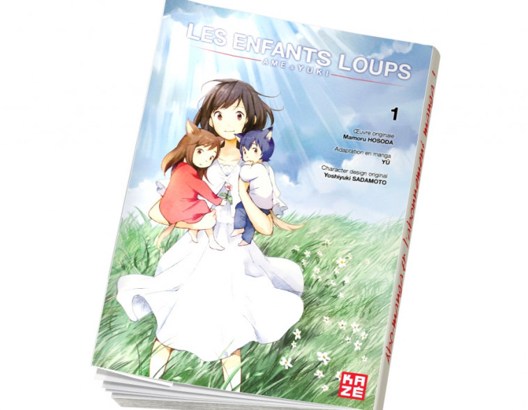 Abonnement Les Enfants Loups - Ame & Yuki tome 1