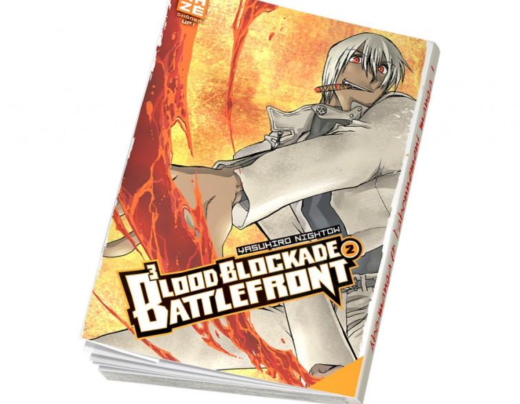 Abonnement Blood Blockade Battlefront tome 2