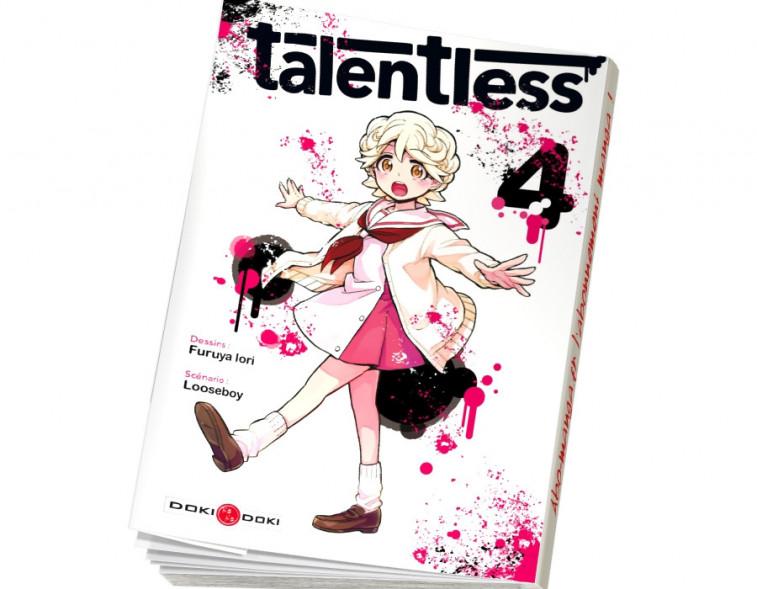 Abonnement Talentless tome 4