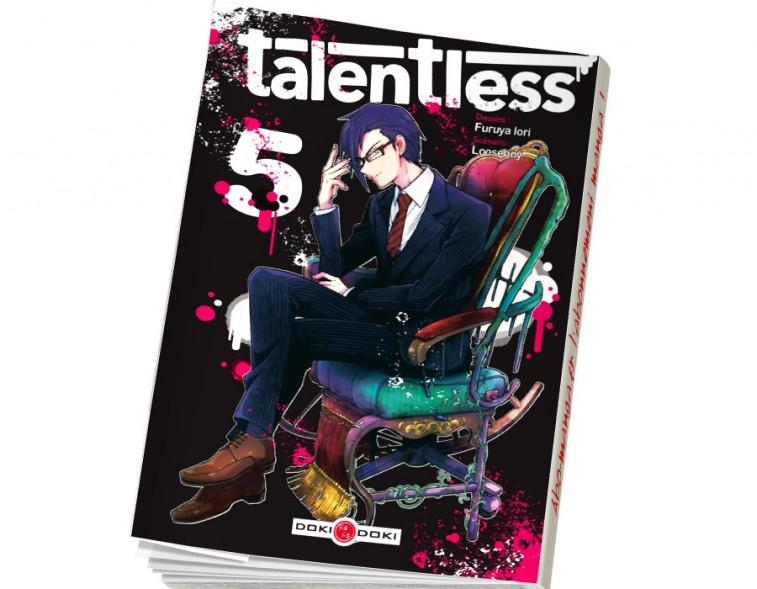 Abonnement Talentless tome 5
