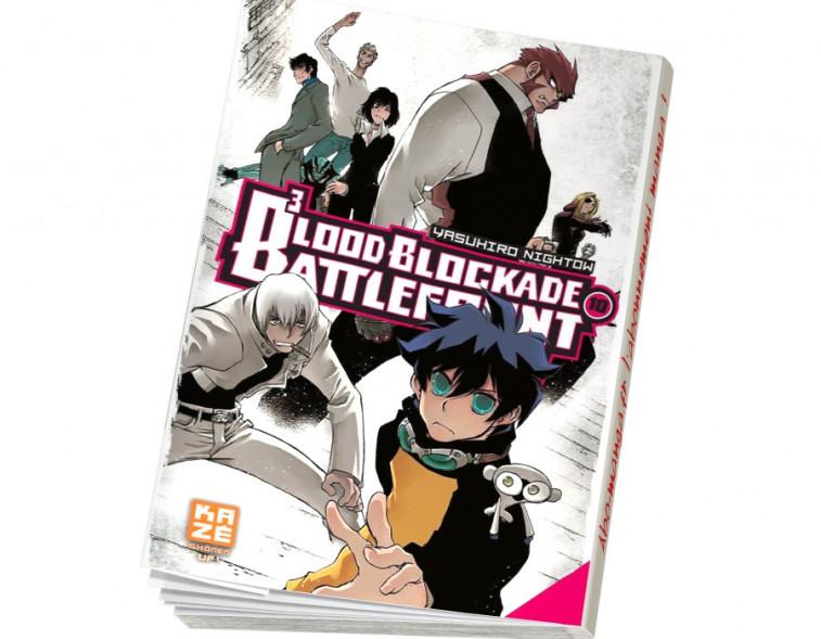 Abonnement Blood Blockade Battlefront tome 10
