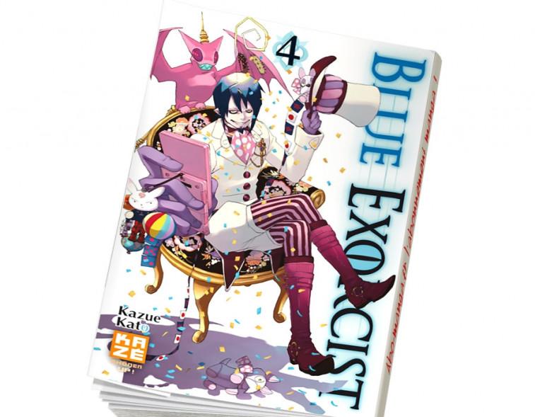 Abonnement Blue Exorcist tome 4