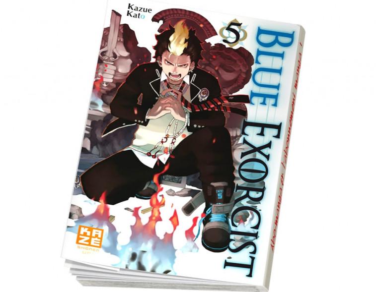 Abonnement Blue Exorcist tome 5