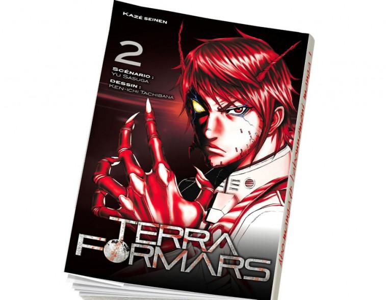 Abonnement Terra Formars tome 2
