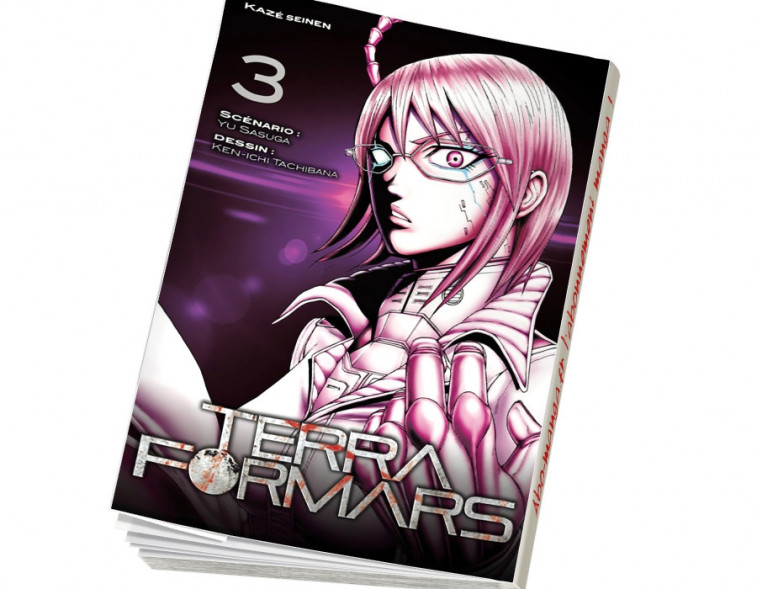 Abonnement Terra Formars tome 3