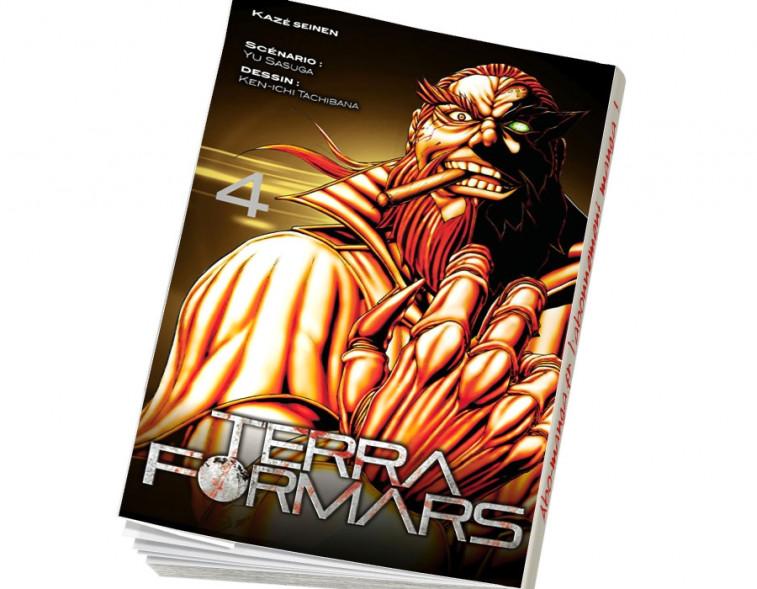 Abonnement Terra Formars tome 4
