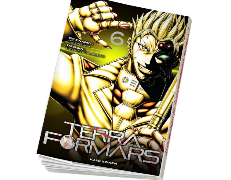 Abonnement Terra Formars tome 6