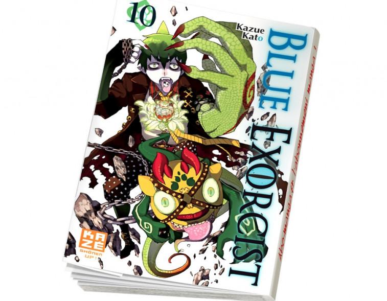 Abonnement Blue exorcist tome 10