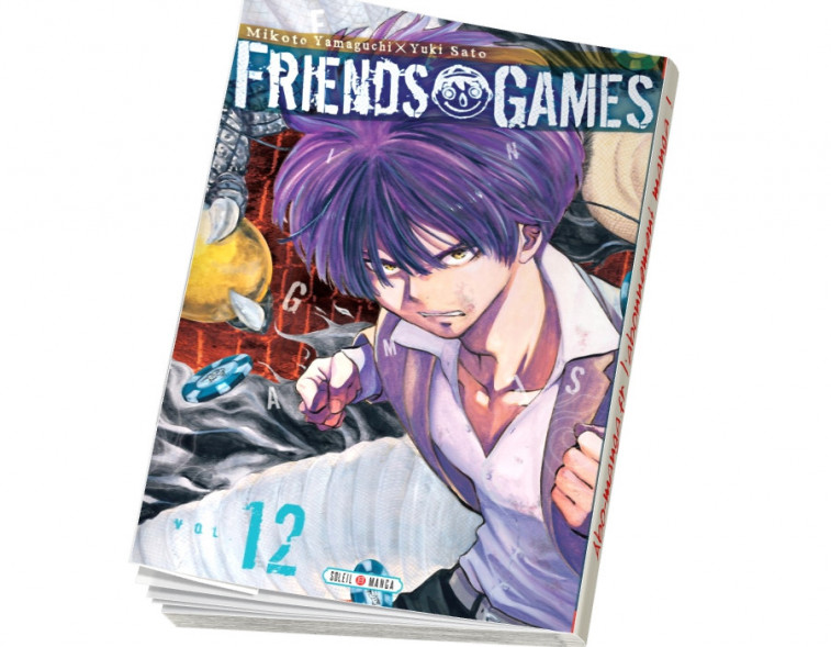 Abonnement Friends Games tome 12