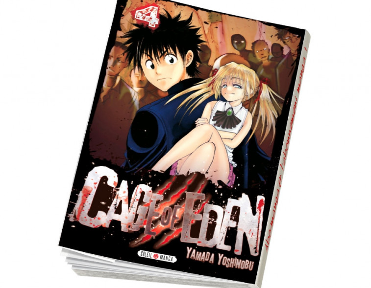 Abonnement Cage of Eden tome 4