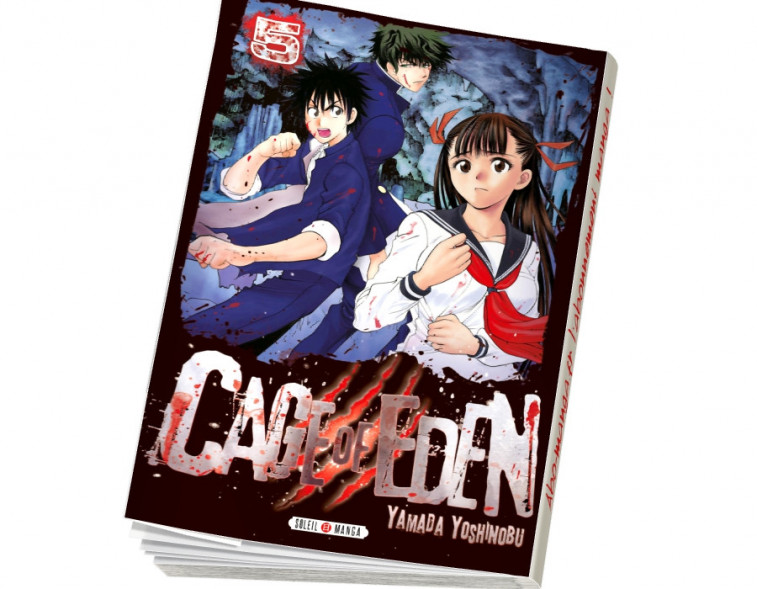 Abonnement Cage of Eden tome 5
