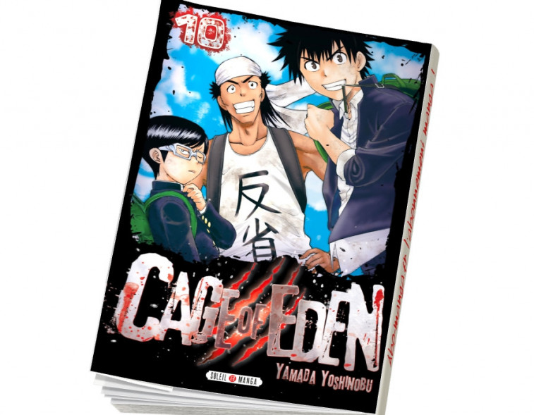 Abonnement Cage of Eden tome 10
