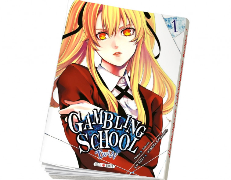 Abonnement Gambling School Twin tome 1