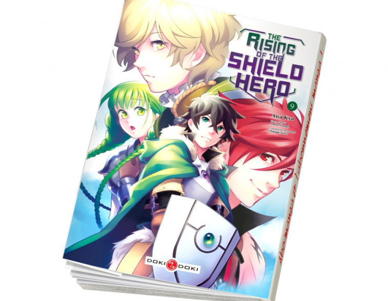 Abonnement The Rising of the Shield Hero tome 9
