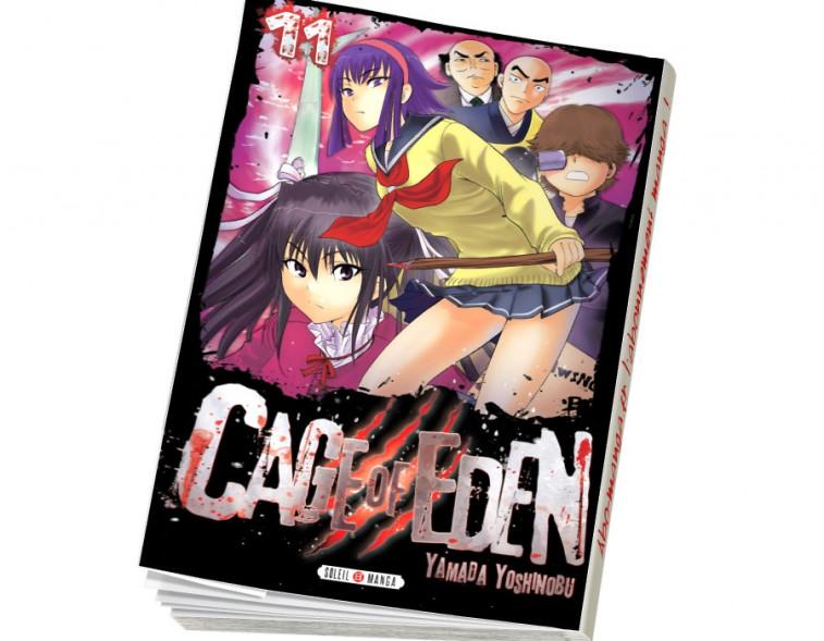 Abonnement Cage of Eden tome 11