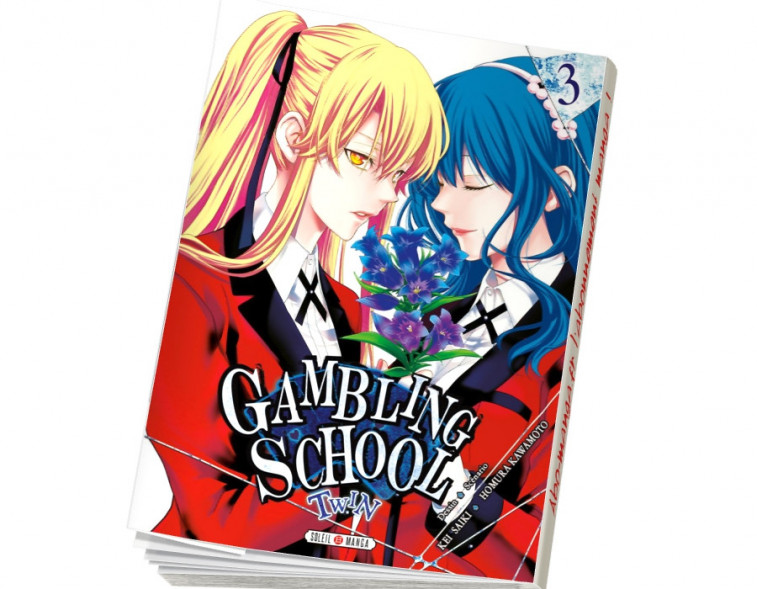 Abonnement Gambling School Twin tome 3