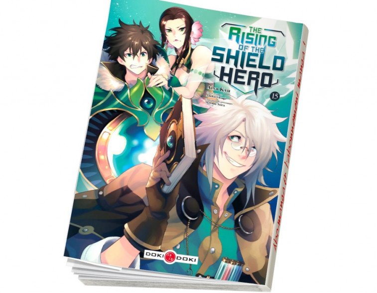 Abonnement The Rising of the Shield Hero tome 15