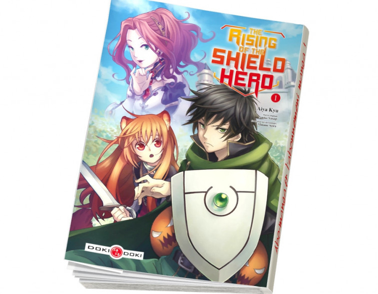Abonnement The Rising of the Shield Hero tome 1