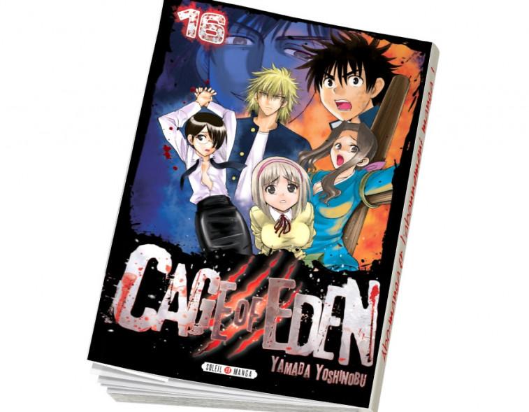 Abonnement Cage of Eden tome 16