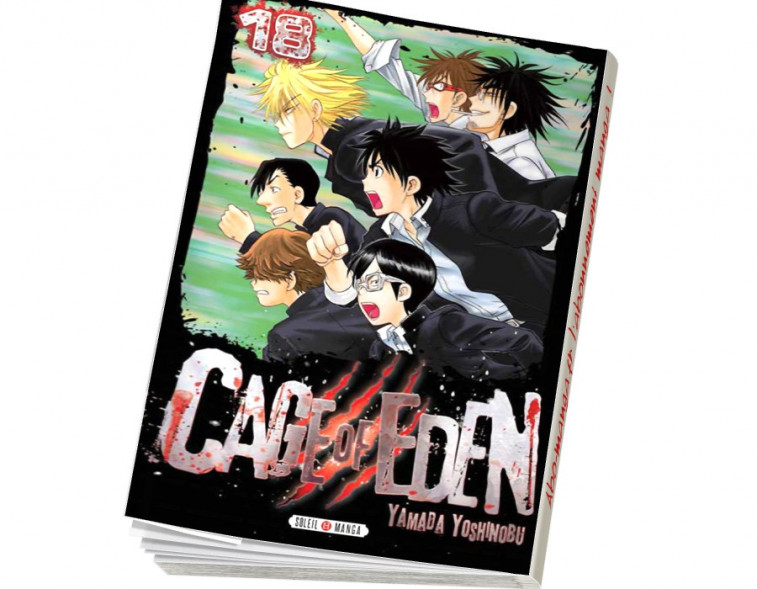 Abonnement Cage of Eden tome 18