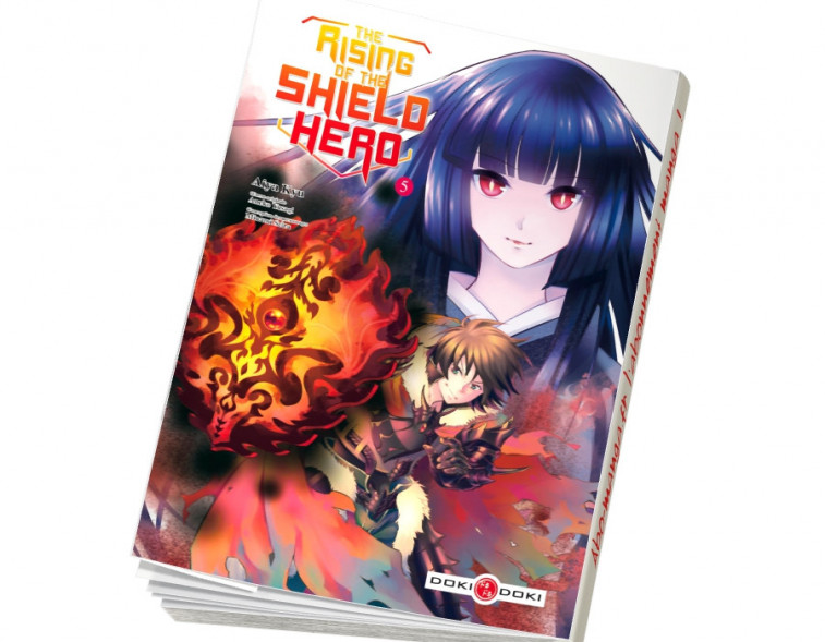 Abonnement The Rising of the Shield Hero tome 5