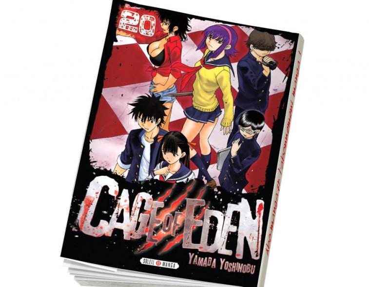 Abonnement Cage of Eden tome 20