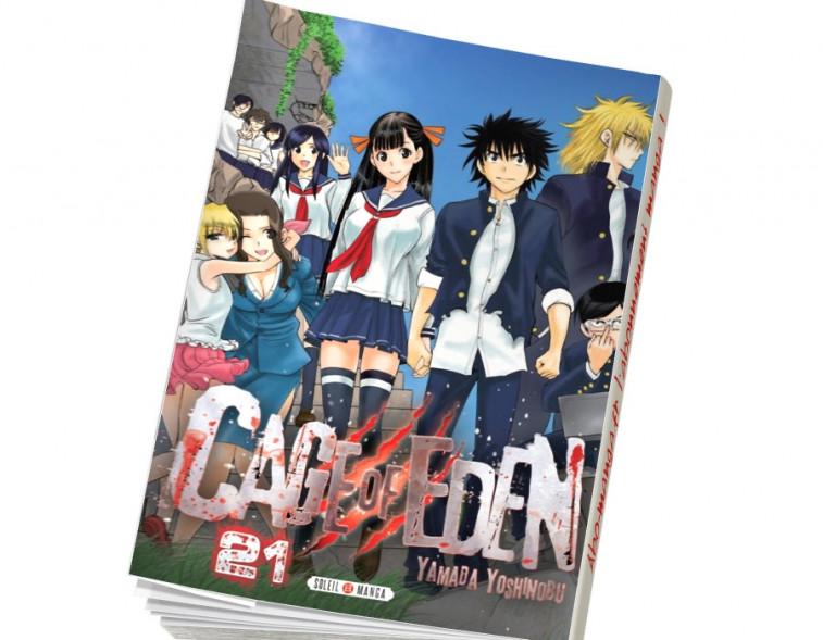 Abonnement Cage of Eden tome 21